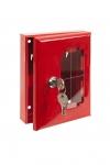 Metal cabinet for keys