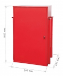 Self-standing Hydrant Cabinet for Above-ground and Underground Hydrant