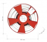 Hydrant reel D33 with hose 20m or 30m
