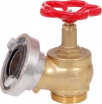 Brass valve C52 for hydrant systems