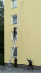 3-piece sliding ladder