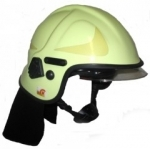 Emergency helmet Calisia type AK-06-09 EN 443:2008 - light green
