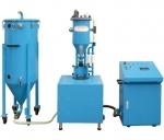 Compact filling machine of powder fire extinguishers PFF-SUMATIC-SV-100-W