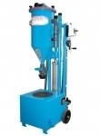 Mobile powder filling machine PFF-FLIPP-EK(P)
