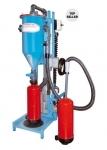 Mobile powder filling machine PFF-FLIPP-EK(W)