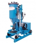 Mobile powder filling machine PFF-FLIPP-EK(H)