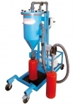 Mobile powder filling machine PFF-III/SWN