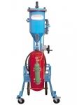 Mobile powder filling machine PFF-III/SWN-50