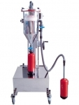 Mobile powder filling machine PFF-III/SWN-50-ES
