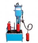 Mobile powder filling machine PFF-SUMATIC-SWZ