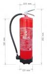 Portable fire extiguisher foam 9l - antifreeze