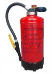 Powder fire extinguishers with pressure cartridge 6 kg