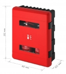 Double Box for Fire Extinguisher