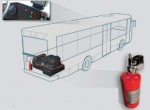 BUS VIPER - automatic extinguishing system for buses 4 kg