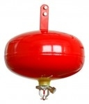 Automatical fire extinguisher - SACLON